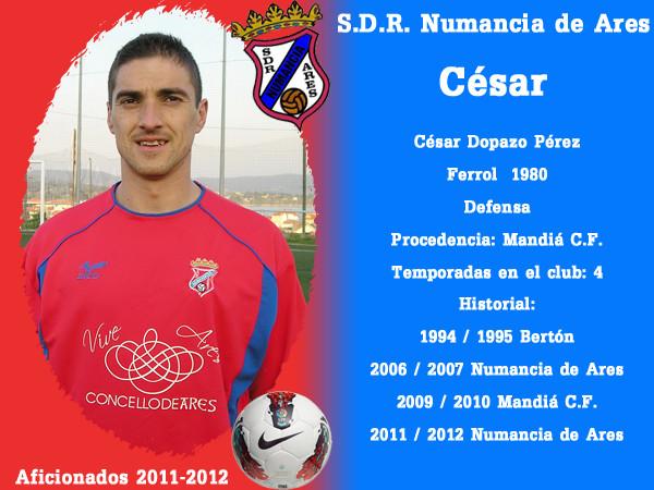 A.D.R. Numanciad de Ares. César.