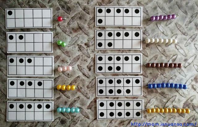 Belajar berhitung ala Montessori
