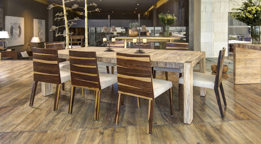 Taracea muebles de madera karen collignon for Franquicias de muebles