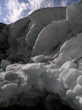 Photo: Edge of the glacier