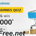 Amazon Business Extra Savings Quiz All Answers to Win ₹20,000 Pay Balance