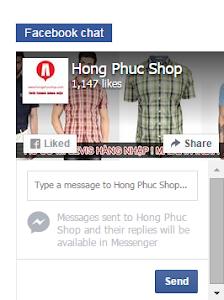 Hướng dẫn cài đặt livechat bằng Facebook cho website