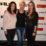 OIC - ENTSIMAGES.COM - Dolya Gavanski,Ruth Platt and  Michaela Prchalova at the Film4 Frightfest on Monday   of  The Lesson  UK Film Premiere at the Vue West End in London on the 31st  August 2015. Photo Mobis Photos/OIC 0203 174 1069