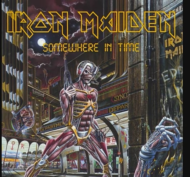 Iron Maiden - Wasted Years (1998 Remaster) Lyrics| Somewhere in Time|Death Metal Song Lyrics|Songlyric71|