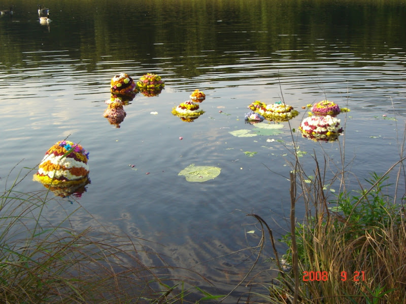 Boston Bathukamma 2008 - Nimmajanam1.JPG