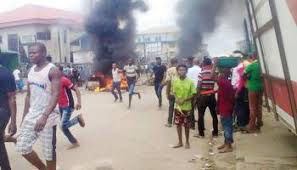 ARMED ROBBERS KILLED AND BURNT POS OPERATOR