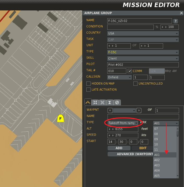 Dcs 20 nttr mission editor spot mapping nellis afb ed forums when you place an aircraft on the map and you designate it to start the mission on the ramp it is assigned a parking spot on the airfield gumiabroncs Gallery
