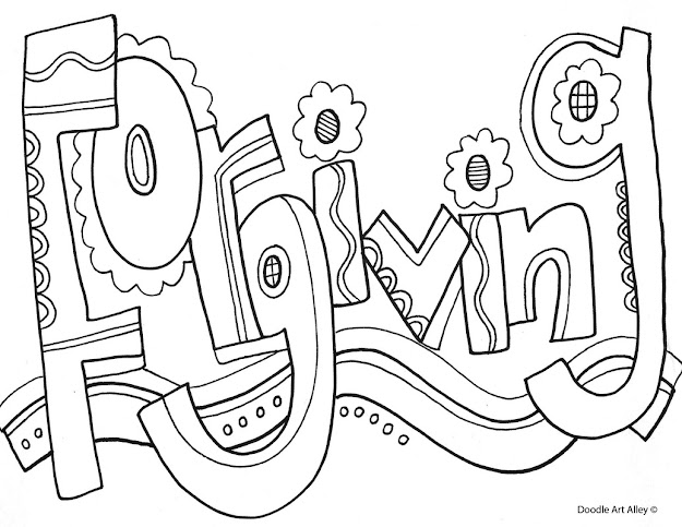 Coloring Pages  Characteristics Of Successful Students From Classroom  Doodles By Doodle Art Alley