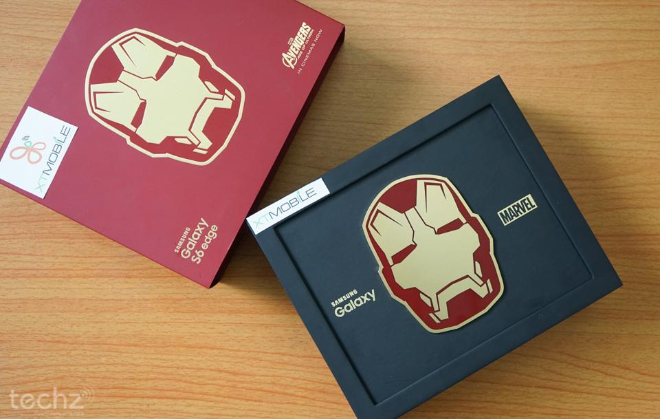 Trên tay Galaxy S6 Edge phiên bản Iron Man tại Việt Nam, giá 58 triệu đồng