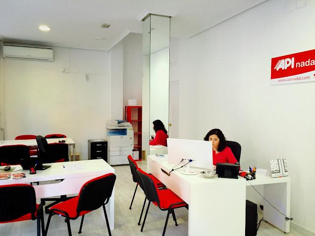 Nueva oficina api nadal delicias en c unceta 6 zaragoza for Oficina zaragoza delicias dni