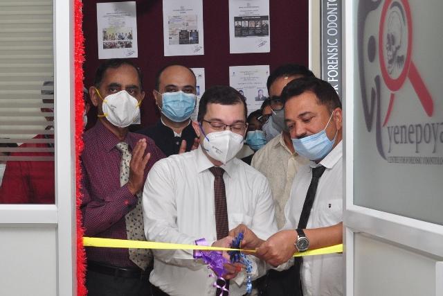 Forensic Odontology Centre in Yenepoya University - ಯೆನೆಪೋಯಾ ದಂತ ವೈದ್ಯಕೀಯ ವಿವಿಯಲ್ಲಿ ವಿಧಿವಿಜ್ಞಾನ ದಂತ ಶಾಸ್ತ್ರ ವಿಭಾಗ ಉದ್ಘಾಟನೆ