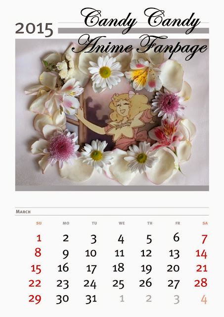 Calendario mes demarzo