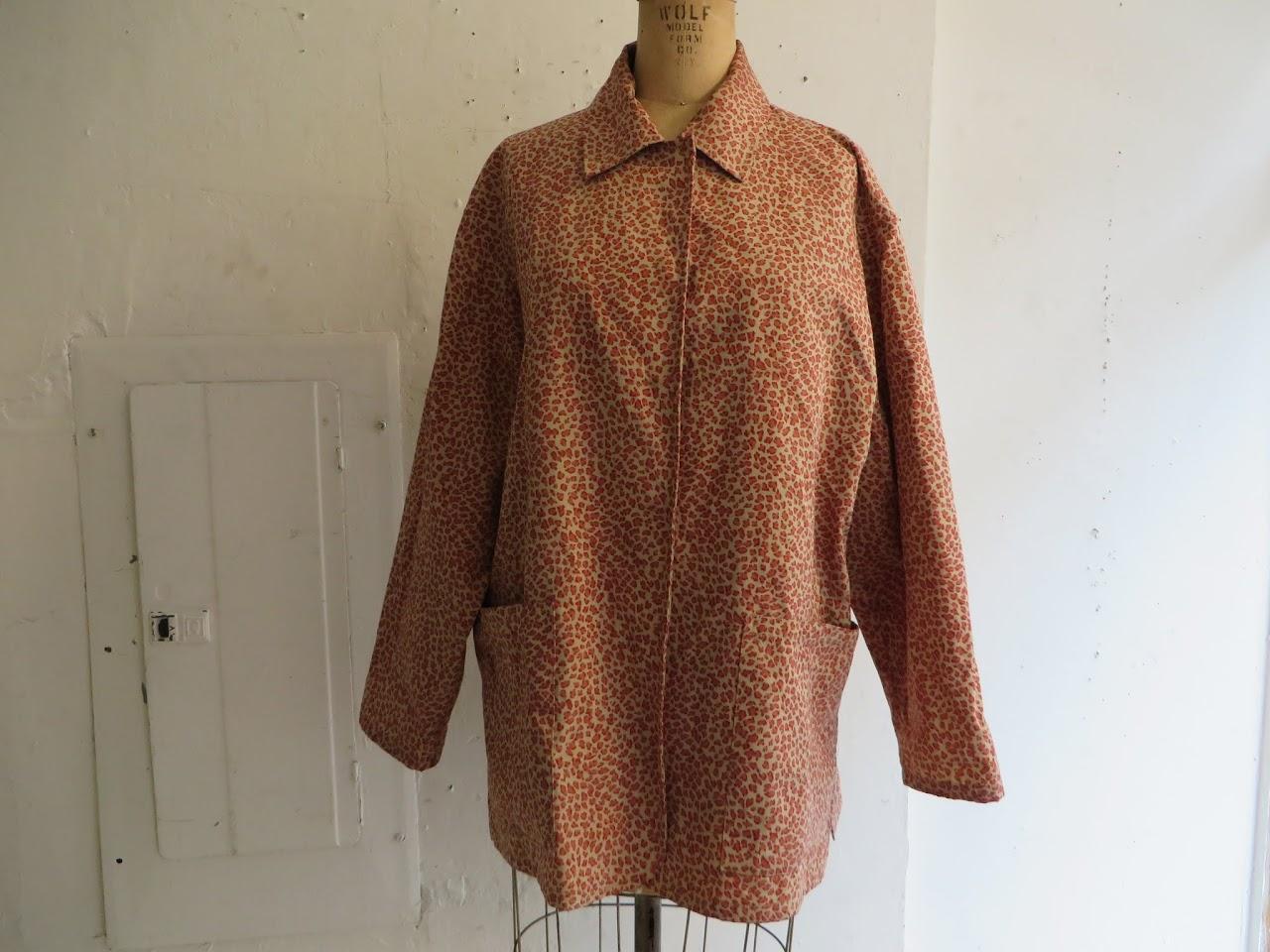 Bottega Veneta Leopard Rain Jacket
