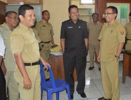 Sekda Kabupaten Ngawi Melakukan Sidak