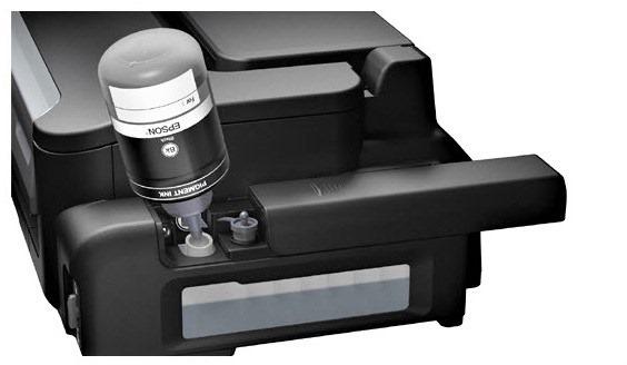 Mengisi Tinta Epson M100