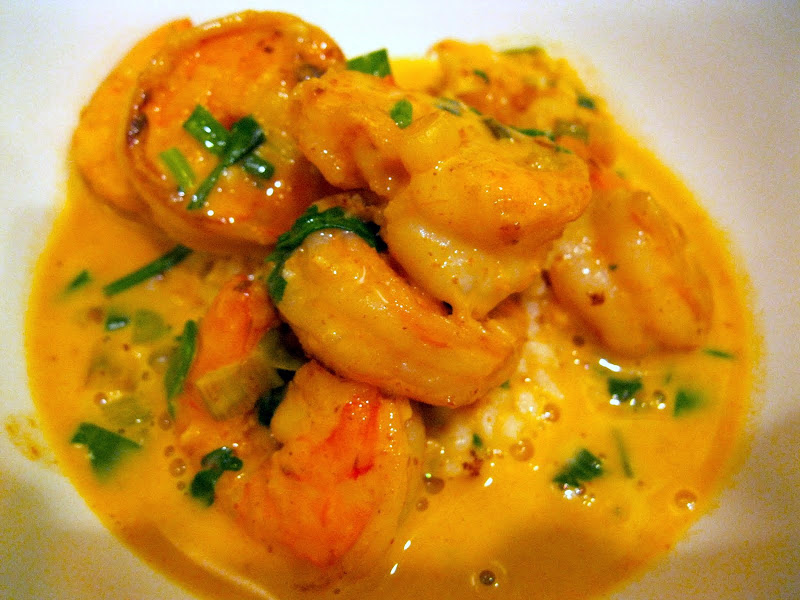 Red Thai Curry Shrimp