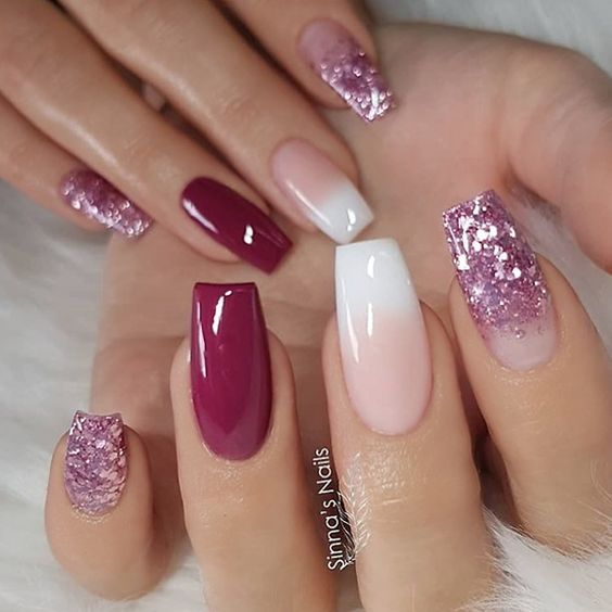 Easy Nail Designs For Long Nails 2018 5