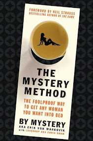 Cover of Mystery's Book The Mystery Method How To Get Beautiful Women Into Bed