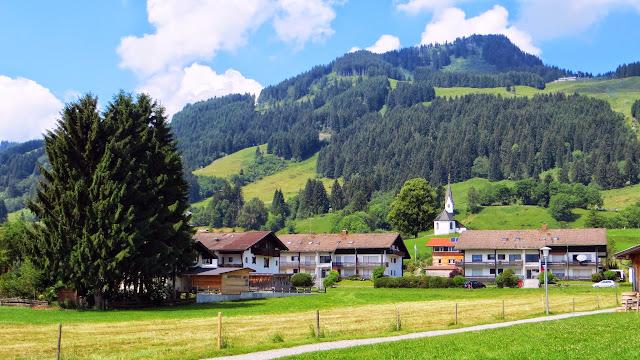 Bolsterlang Blick Bolstrlangerhorn Allgäu