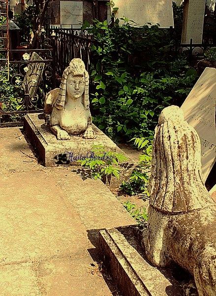 statui mormant cimitir bellu
