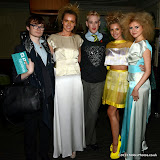 WWW.ENTSIMAGES.COM -   Fossy Meade, Zara StClair-Pearce,Lewis duncan Weedon, Yasmin St Clair-Pearce andAnastasiya Afro Hair    at  Neobotanic Fashion SS14 exotic landscape collection at The Millennium Hotel  London October 14th 2013Photo Mobis Photos/OIC 0203 174 1069