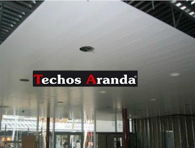 Precio anticrisis instaladores de techos de aluminio Madrid
