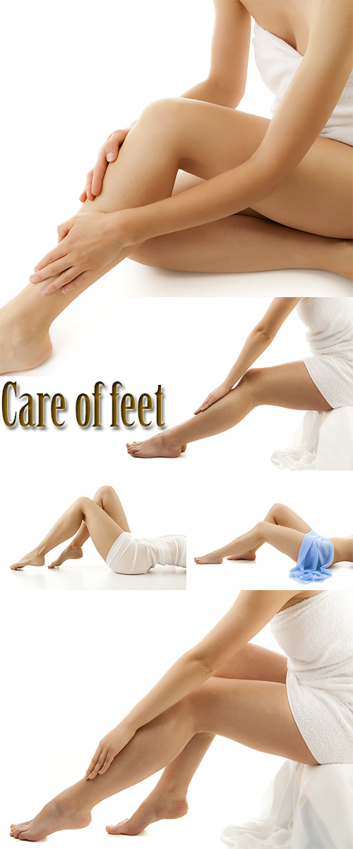 Stock Photo: Care of feet