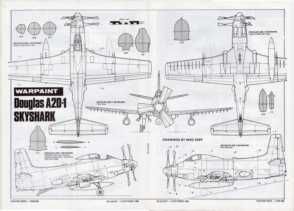 [Douglas-A2D-Skyshark-3-View-Drawing-%5B1%5D]