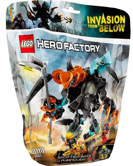 Hộp sản phẩm Lego Hero Factory 44021