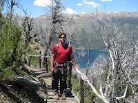 Hike to Frey refugio - outside Bariloche