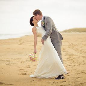 John & Sarah by Josiah Blizzard - Wedding Bride & Groom ( love, martin, wedding, john, sarah, marriage )