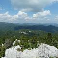 pogled na Bjelolasicu s vrha Bijelih stijena