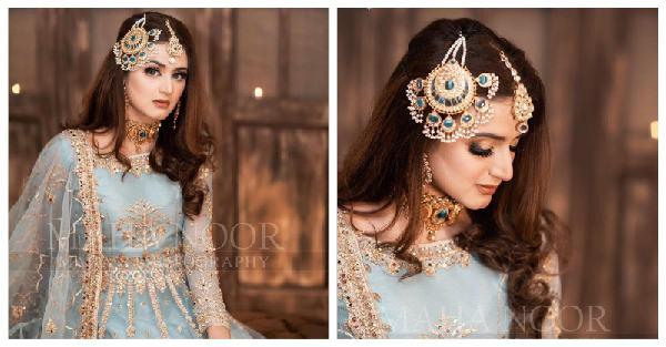 Hira Mani beautiful photoshoot for Faiza Salon
