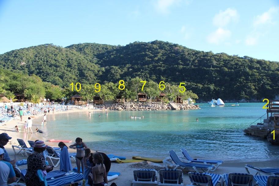 Labadee Nellie S Beach Cabanas