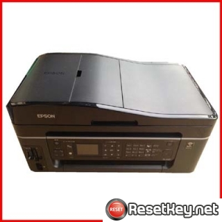 Reset Epson PX-602F Waste Ink Pads Counter overflow error