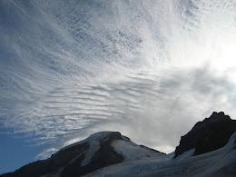 Mt Baker and Colfax peak.