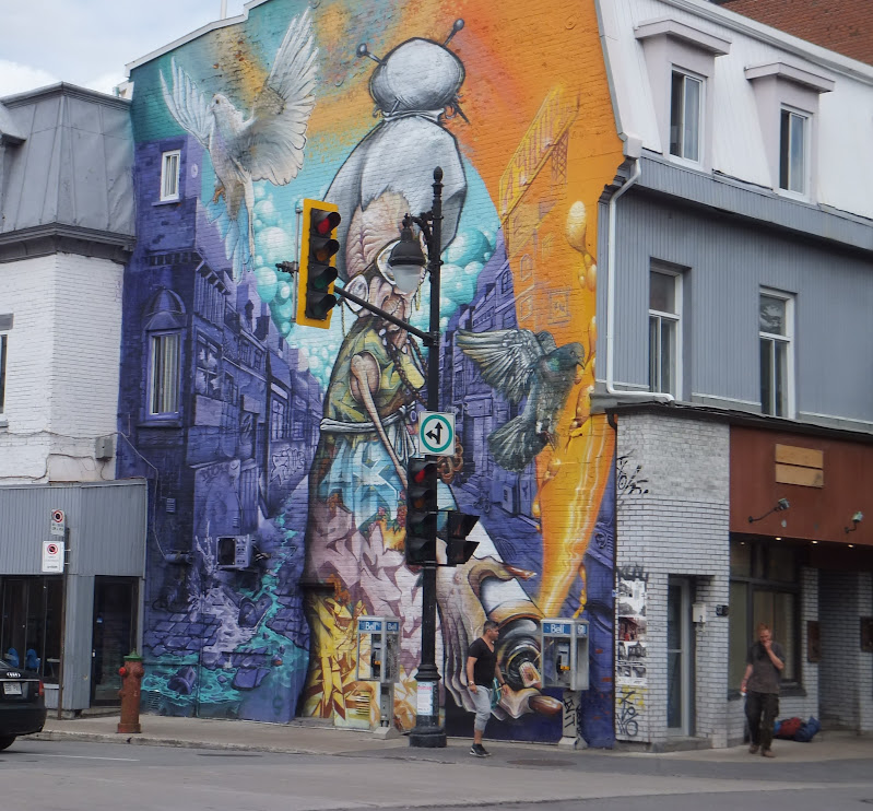 Art de rue, Street Art, Montreal, Quebec, Canada, elisaorigami, travel, blogger, voyages, lifestyle