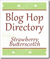 Blog hop and link party directory at Strawberry Butterscotch