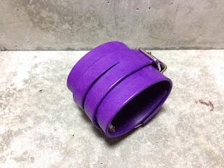 ジョニーロットン リストバンド 紫