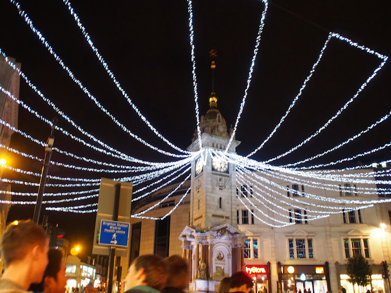 brighton clocktower christmas