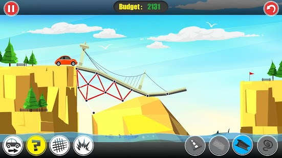Path of Traffic- Bridge Building Screenshot