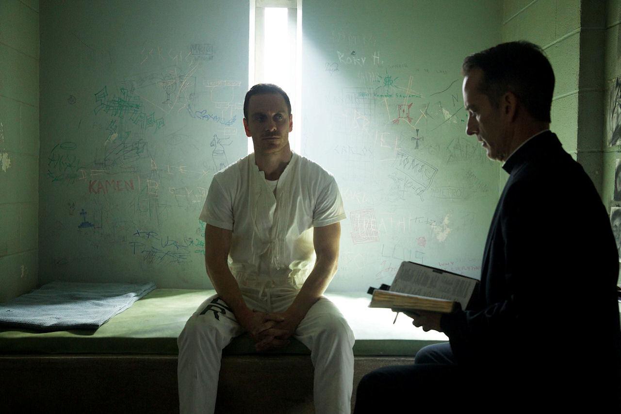Michael Fassbender in ASSASSIN'S CREED. (Photo credit: Kerry Brown © 2016 Twentieth Century Fox Film Corporation).