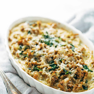 Creamy Spinach and Potato Breakfast Casserole Recipe