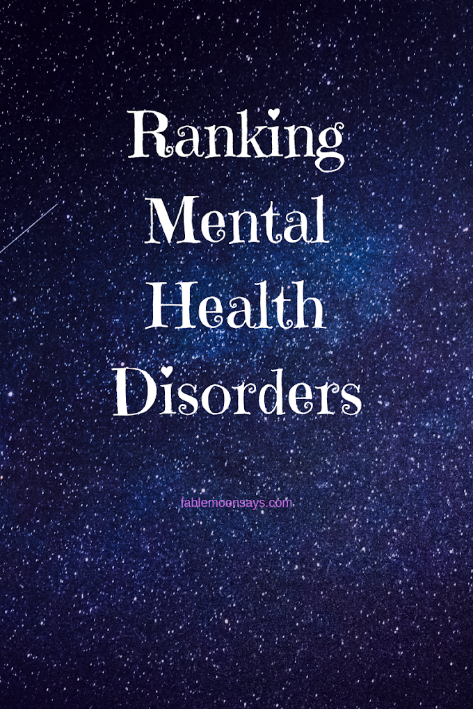Ranking Mental Health Disorders