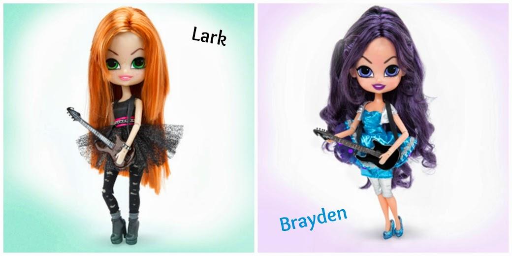 The Beatrix Girls Dolls - Lark & Brayden