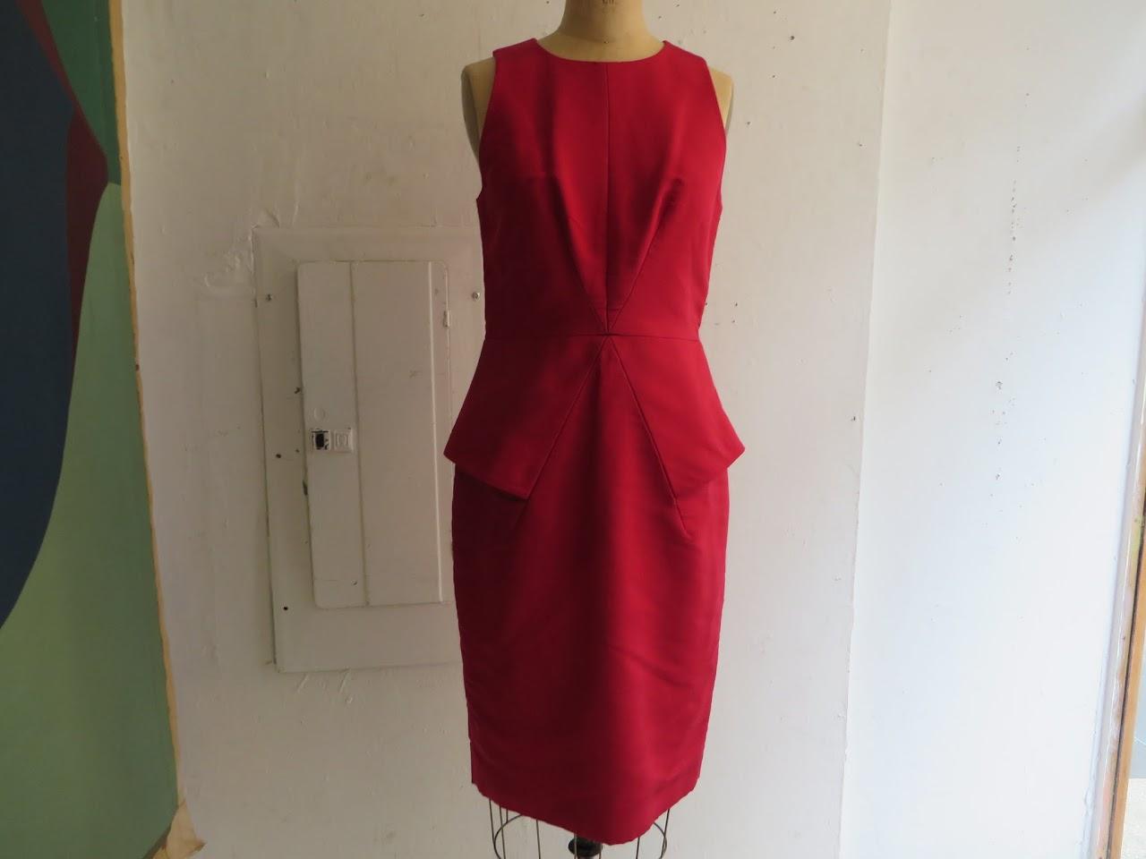 Cushnie et Ochs Silk Dress