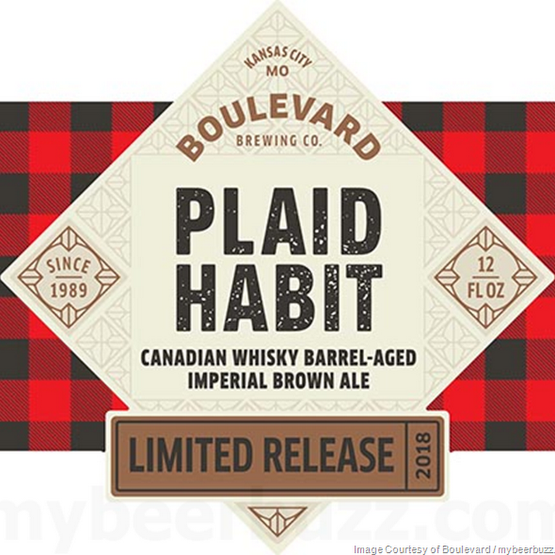 Boulevard Adding Plaid Habit Bottles