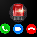 Fake Call From 911 Emergency Prank Simulator icon