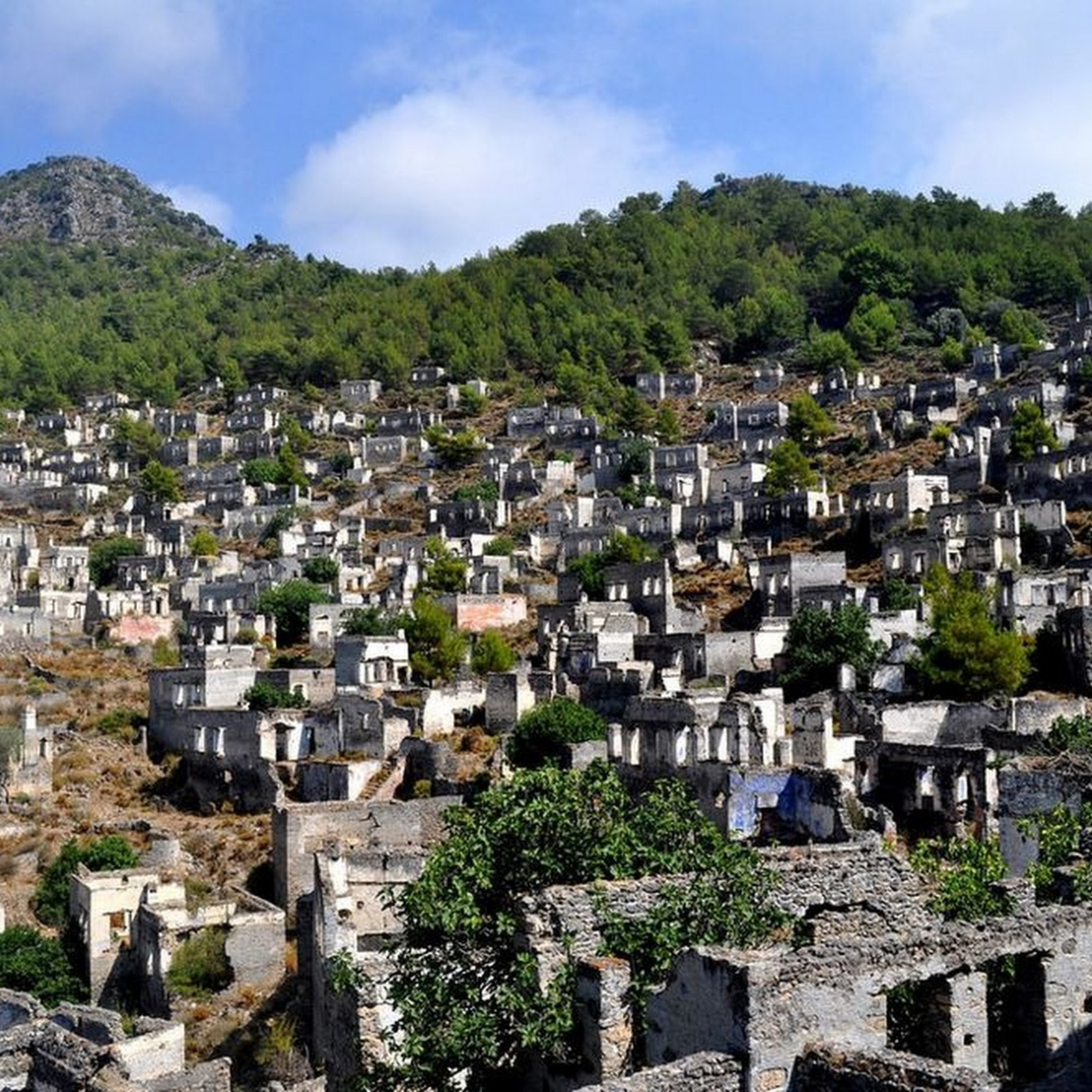 Kayakoy: A Greek Ghost Town in Turkey