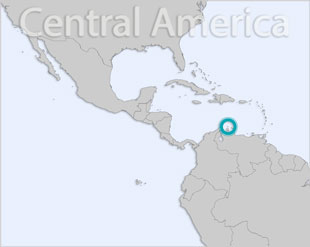 Aruba location map